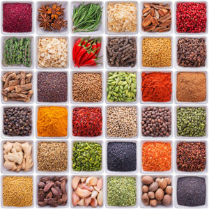 Фотообои кухня набор специй (food-0000267)