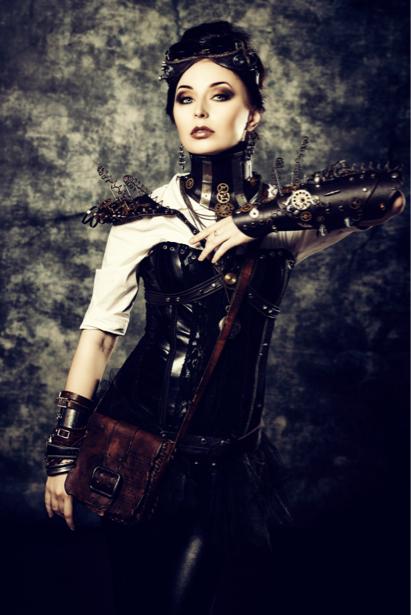 Фотообои портрет стимпанк (glamour-0000214)