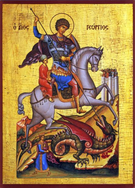 Икона Святого Георгия (icon-00083)