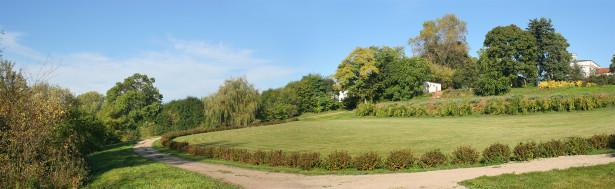 Фотообои парковый ландшафт панорама (panorama_0000035)