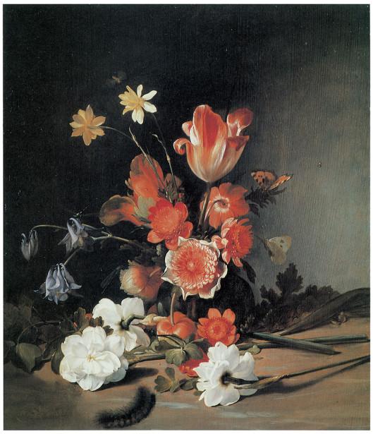 картина натюрморт с цветами (pf-18)
