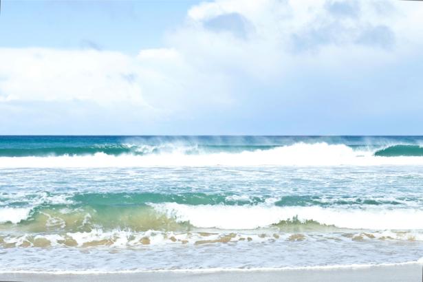 Фотообои морские волны небольшие (sea-0000364)