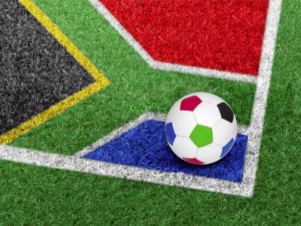 Фотообои футбол мяч трава (sport-0000018)