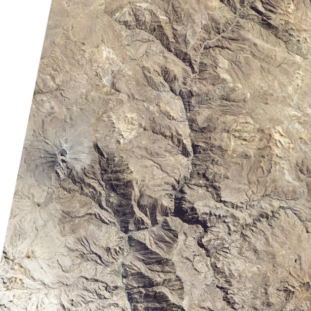 Фотообои 3д гористось NASA (terra-00023)