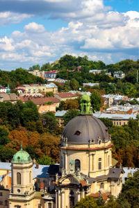 Фотообои Доминиканский собор во Львове (ukr-57)