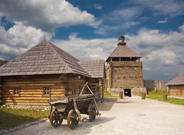 Фотообои Запорожье виды Украины (ukraine-0266)