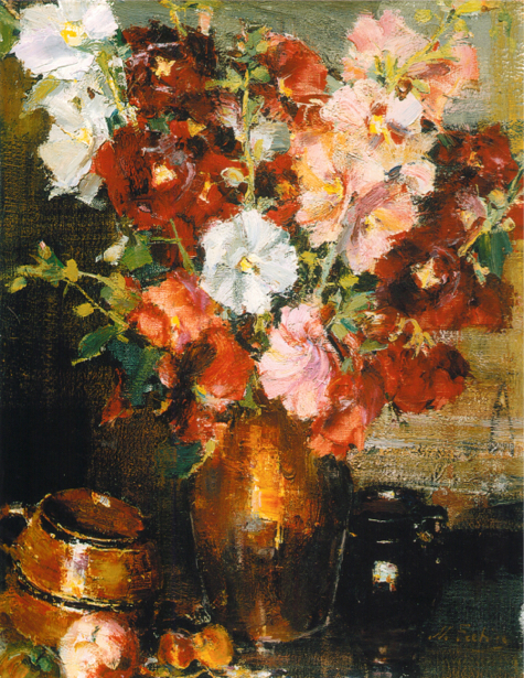 На стену фотообои Натюморт с цветами (art-0000321)
