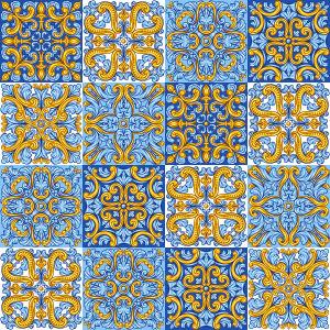 Фотообои Средиземноморский орнамент (background-402)