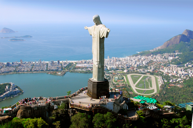 Фотообои Бразилия статуя Христа Искупителя (city-0000041)