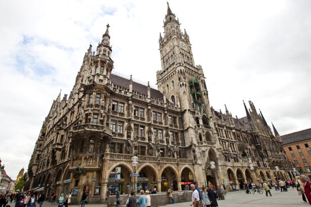 Фотообои площадь мюнхена (city-0001071)