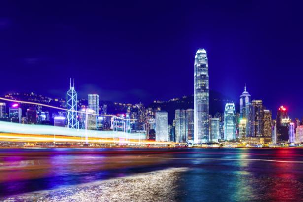Фотообои ночной мегаполис Шанхай (city-0001134)