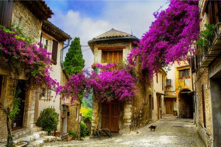 Фотообои Старый город Прованса (city-0001204)