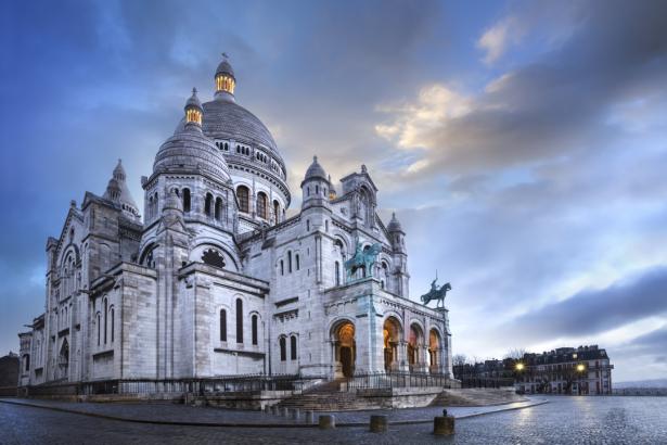 Фотообои Базилика Сакре-Кёр Париж (city-0001318)