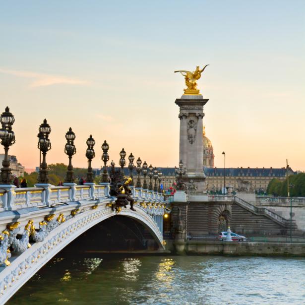Мост фотообои Александра III, Париж (city-0001377)