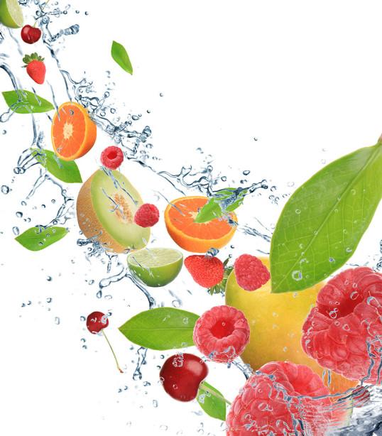 Фотообои фруктовый поток (food-345)