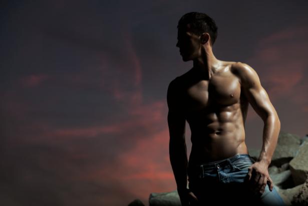 Фотообои мода торс мужчины (glamour-0000106)