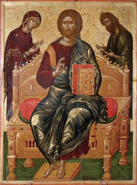 Христос Пантократор из Синайского монастыря (icon-00079)