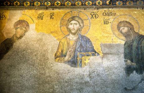 мозаика в соборе Святой Софии (icon-00099)