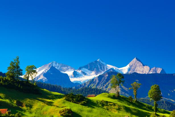 Фотообои вершины горы (nature-0000657)