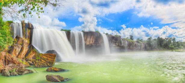Фотообои панорама с водопадами (nature-0000714)