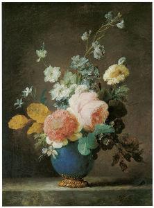 цветы в вазе натюрморт (pf-112)