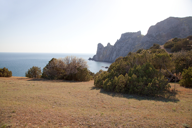 Фотообои море Новый Свет скалы (sea-0000270)