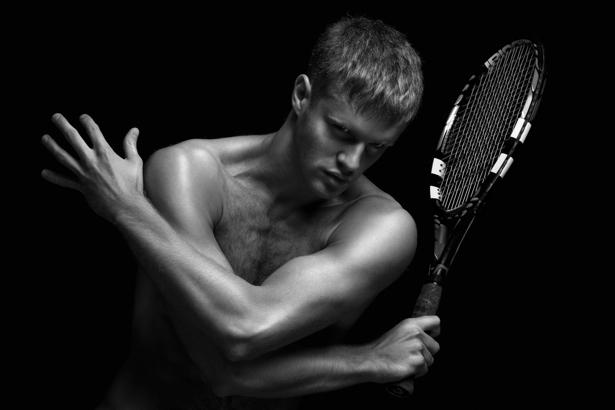 Фотообои теннисист модель (sport-0000016)