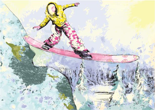 Фотообои зимние виды спорта (sport-0000162)