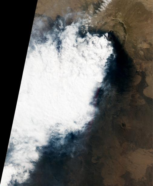 Фотообои 3д горы вулкан (terra-00067)