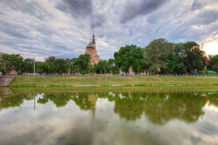 Фотообои Благовещенский собор в Харькове (ukr-1)