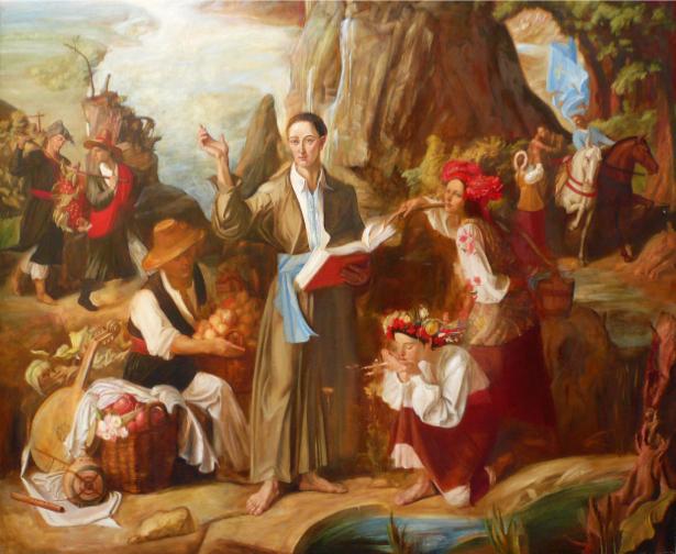Сковорода – философ ХVІІІ в (ukraine-0039)