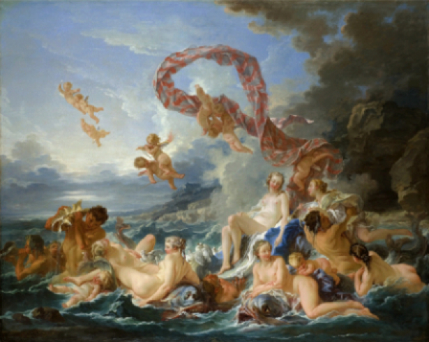 Франсуа Буше, жанровая композиция (art-0000135)