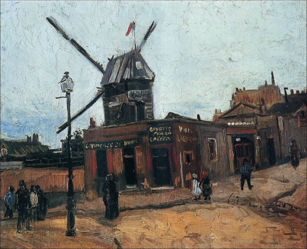 Ван Гог пейзаж (art-0000212)