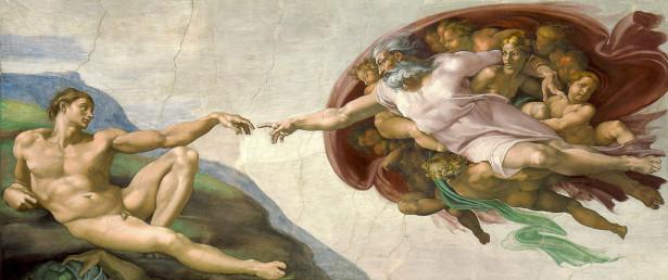 Фотообои Сотворение Адама (art-790)