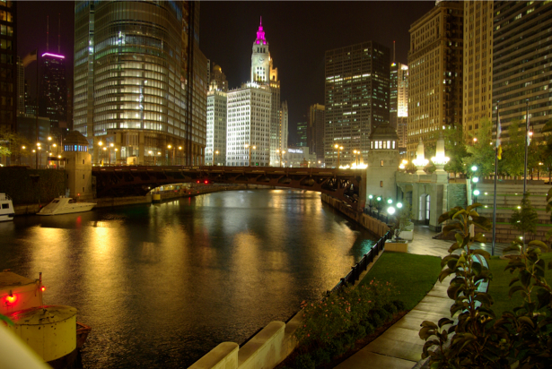Фотообои США, Чикаго, Мичиган, штат, Иллинойс (city-0000112)