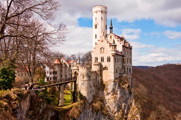 Фотообои Лихтенштайн, замок в Германии (city-0000115)
