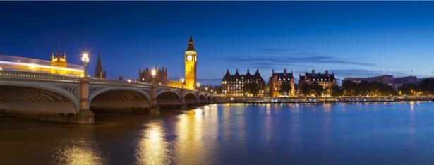 Фотообои вечерний лондон (city-0001060)