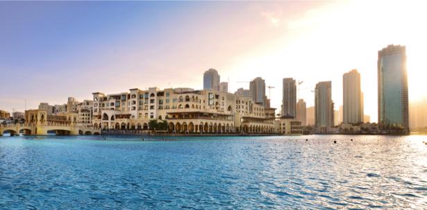 Небоскрёбы Дубай - фотообои (city-0001171)