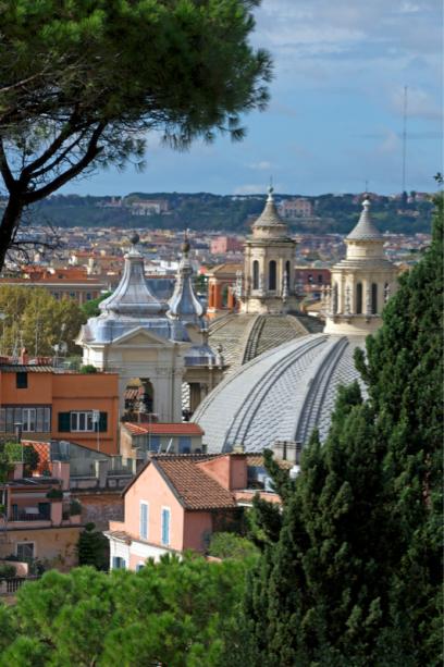 Фотообои Рим Италия вид на город (city-0001264)