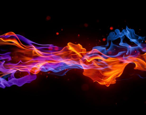 Фотообои плазменное пламя (fantasy-0000037)