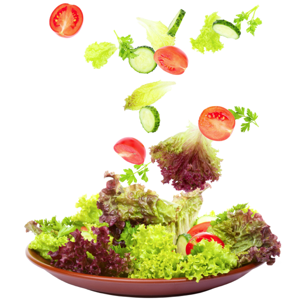 Обои в кухню овощное ассорти салат (food-0000214)