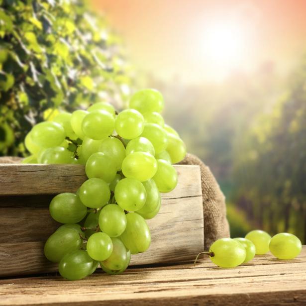 Фотообои кухня гроздь винограда (food-0000218)