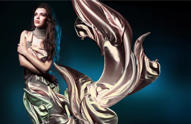 Фотообои фото девушка и платье (glamour-0000012)