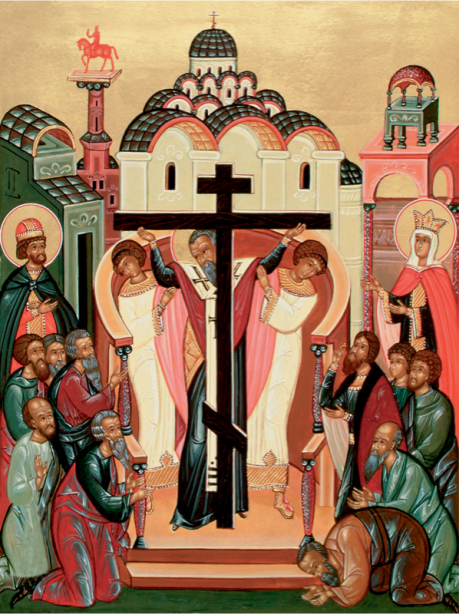 икона Воздвижение Креста животворящего (icon-00048)