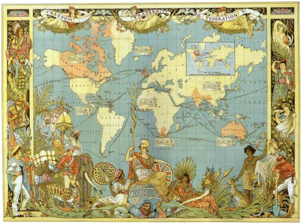 география, карты, старая карта (map-0000035)
