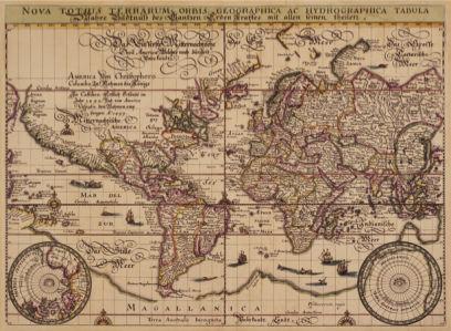атлас, география, карты, старая карта (map-0000088)