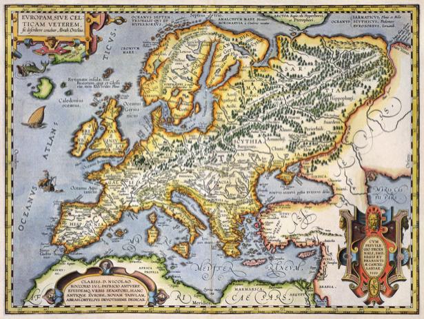 атлас, география, карты, старая карта (map-0000110)