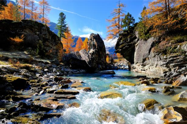 Фотообои камни горная река (nature-0000665)