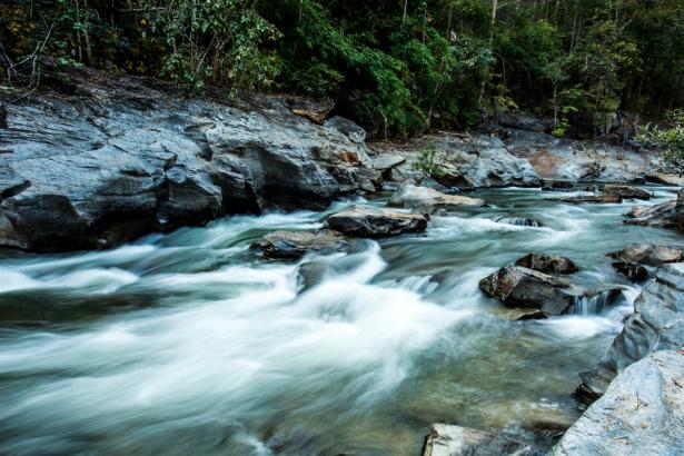 Фотообои водопад горная река (nature-0000784)