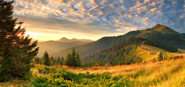 Фотообои природные горный пейзаж (nature-00161)